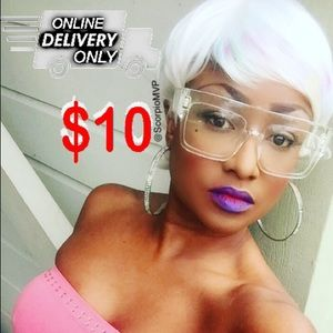 $10 Layered Short PixieCut Curly HairStyle Wig